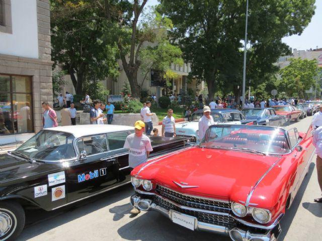 Mobil 1 ile klasik otomobiller türkiye yollarında